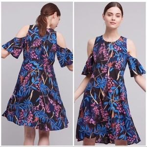 Anthro Maeve Size 10 Elia Floral Dress